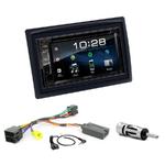 Renault Megane 2 de 2002 à 2009 : Poste radio 2-DIN avec CD/USB/Bluetooth avec ou sans écran tactile