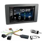Saab 9.5 depuis 2005 : Poste radio 2-DIN avec CD/USB/Bluetooth avec ou sans écran tactile