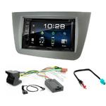 Seat Altea, Altea XL & Toledo : Poste radio 2-DIN avec CD/USB/Bluetooth avec ou sans écran tactile
