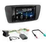 Seat Ibiza de 06/2008 à 2014 : Poste radio 2-DIN avec CD/USB/Bluetooth avec ou sans écran tactile