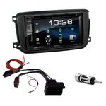 Smart ForTwo de 09/2010 à 2015 : Poste radio 2-DIN avec CD/USB/Bluetooth avec ou sans écran tactile