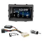 Ssangyong Rodius depuis 2013 : Poste radio 2-DIN avec CD/USB/Bluetooth avec ou sans écran tactile