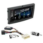 Ssangyong Rexton II de 2006 à 2013 : Poste radio 2-DIN avec CD/USB/Bluetooth avec ou sans écran tactile