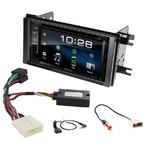 Subaru Impreza et Forester de 2007 à 2011 : Poste radio 2-DIN avec CD/USB/Bluetooth avec ou sans écran tactile
