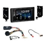 Subaru Impreza et XV de 2012 à 2015 : Poste radio 2-DIN avec CD/USB/Bluetooth avec ou sans écran tactile