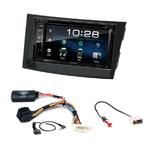 Subaru Outback et Legacy de 2010 à 2013 : Poste radio 2-DIN avec CD/USB/Bluetooth avec ou sans écran tactile