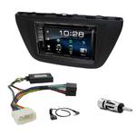 Suzuki SX4 S-Cross depuis 2013 : Poste radio 2-DIN avec CD/USB/Bluetooth avec ou sans écran tactile