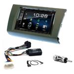 Suzuki Swift de 2005 à 2010 : Poste radio 2-DIN avec CD/USB/Bluetooth avec ou sans écran tactile