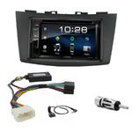 Suzuki Swift depuis 09/2010 : Poste radio 2-DIN avec CD/USB/Bluetooth avec ou sans écran tactile