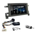 Suzuki Grand Vitara depuis 09/2005 : Poste radio 2-DIN avec CD/USB/Bluetooth avec ou sans écran tactile