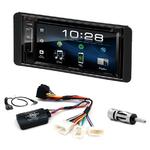 Toyota Hilux de 2007 à 2012 : Poste radio 2-DIN avec CD/USB/Bluetooth avec ou sans écran tactile