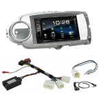Toyota Yaris de 10/2011 à 07/2014 : Poste radio 2-DIN avec CD/USB/Bluetooth avec ou sans écran tactile