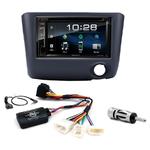 Toyota Yaris de 2003 à 2006 : Poste radio 2-DIN avec CD/USB/Bluetooth avec ou sans écran tactile