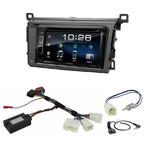 Toyota RAV4 depuis 2013 : Poste radio 2-DIN avec CD/USB/Bluetooth avec ou sans écran tactile