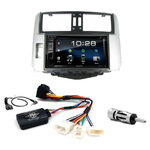 Toyota Land Cruiser 150 depuis 2009 : Poste radio 2-DIN avec CD/USB/Bluetooth avec ou sans écran tactile