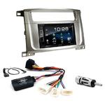 Toyota Land Cruiser 100 et Lexus LX-470 2003 à 2007 : Poste radio 2-DIN avec CD/USB/Bluetooth avec ou sans écran tactile