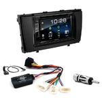 Toyota Avensis depuis 2009 : Poste radio 2-DIN avec CD/USB/Bluetooth avec ou sans écran tactile