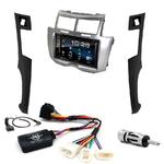 Toyota Yaris de 2007 à 2011 : Poste radio 2-DIN avec CD/USB/Bluetooth avec ou sans écran tactile