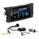 Toyota Auris de 2007 à 2013 : Poste radio 2-DIN avec CD/USB/Bluetooth avec ou sans écran tactile