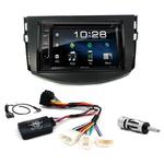 Toyota RAV4 de 2006 à 2013 : Poste radio 2-DIN avec CD/USB/Bluetooth avec ou sans écran tactile