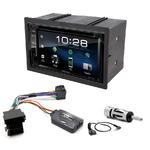Volkswagen Golf 4, Lupo, Polo & Passat : Poste radio 2-DIN avec CD/USB/Bluetooth avec ou sans écran tactile
