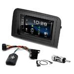 Fiat Croma de 2005 à 2010 : Poste radio 2-DIN avec CD/USB/Bluetooth avec ou sans écran tactile