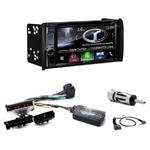 Autoradio Navigation CarPlay et Android Auto DNX5180BTS, DNX451RVS ou DNX8180DABS Ford Mondeo de 1999 à 2003