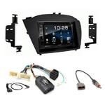 Hyundai IX35 de 2013 à 2016 : Poste radio 2-DIN avec CD/USB/Bluetooth avec ou sans écran tactile