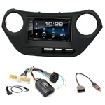Hyundai i10 depuis 2014 : Poste radio 2-DIN avec CD/USB/Bluetooth avec ou sans écran tactile