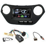 Autoradio Navigation CarPlay et Android Auto DNX5180BTS, DNX451RVS ou DNX8180DABS Hyundai i10 depuis 2014