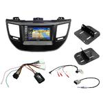 Pack autoradio GPS Hyundai Tucson depuis 2015 - iLX-702D, INE-F904D, INE-W611D ou INE-W720D au choix