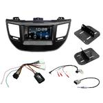 Hyundai Tucson depuis 2015 : Poste radio 2-DIN avec CD/USB/Bluetooth avec ou sans écran tactile