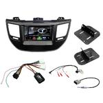 Autoradio Navigation CarPlay et Android Auto DNX5180BTS, DNX451RVS ou DNX8180DABS Hyundai Tucson depuis 2015