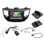 Pack autoradio Android GPS Hyundai Tucson depuis 2015 - WIFI Bluetooth écran tactile HD