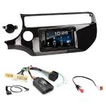 Kia Rio depuis 03/2015 : Poste radio 2-DIN avec CD/USB/Bluetooth avec ou sans écran tactile