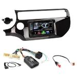 Autoradio Navigation CarPlay et Android Auto DNX5180BTS, DNX451RVS ou DNX8180DABS Kia Rio depuis 03/2015