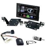 Autoradio Navigation CarPlay et Android Auto DNX5180BTS, DNX451RVS ou DNX8180DABS Kia Rio et Sportage 2005 à 2010