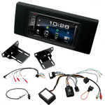 Range Rover Vogue de 2006 à 2012 : Poste radio 2-DIN avec CD/USB/Bluetooth avec ou sans écran tactile