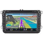 Autoradio GPS Skoda Octavia, Fabia, Yeti, Superb, Roomster, Praktik avec Ecran 8 pouces