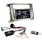 Autoradio Navigation CarPlay et Android Auto DNR4190DABS, DNX5190DABS ou DNX9190DABS Toyota Land Cruiser 100 et Lexus LX-470