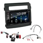 Kia Soul de 2012 à 2014 : Poste radio 2-DIN avec CD/USB/Bluetooth avec ou sans écran tactile