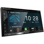 Autoradio avec écran tactile, CD/DVD et CarPlay et Navigation - Kenwood DNX5190DABS