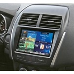 Autoradio GPS Alpine Style X802D-U avec KIT-8ASX - Mitsubishi ASX, Citroën Aircross et Peugeot 4008