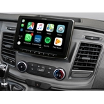 Alpine Style pour Ford Transit Custom à partir de 2018 - Waze, Apple Carplay et Android Auto - iLX-F903D et KIT-F9FO-TRA