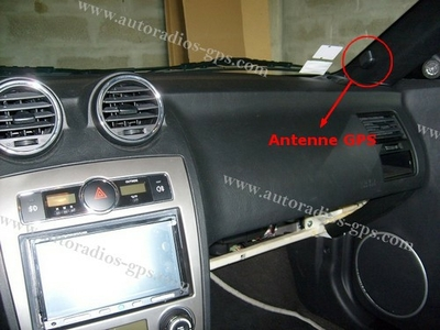Ou placer son antenne gps autoradios gps la r f rence for Antenne autoradio interieur