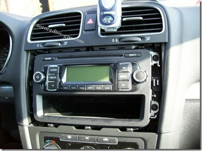 montage golf 6 autoradio alpine jvc kenwood autoradios. Black Bedroom Furniture Sets. Home Design Ideas