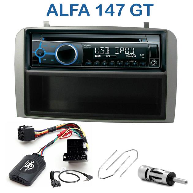 autoradio 1 din alfa romeo 147 et gt avec cd usb mp3 bluetooth alfa romeo autoradios. Black Bedroom Furniture Sets. Home Design Ideas