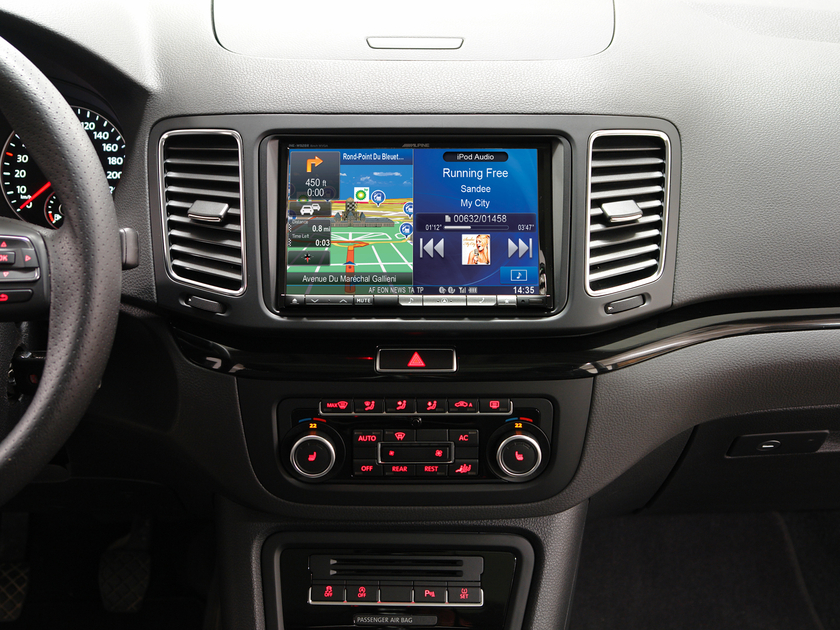 autoradio gps ine w928r ou x801d u volkswagen seat skoda autoradios. Black Bedroom Furniture Sets. Home Design Ideas