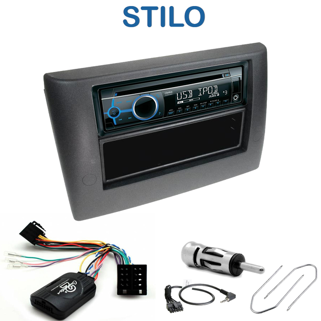 autoradio 1 din fiat stilo poste cd usb mp3 wma clarion fiat autoradios. Black Bedroom Furniture Sets. Home Design Ideas