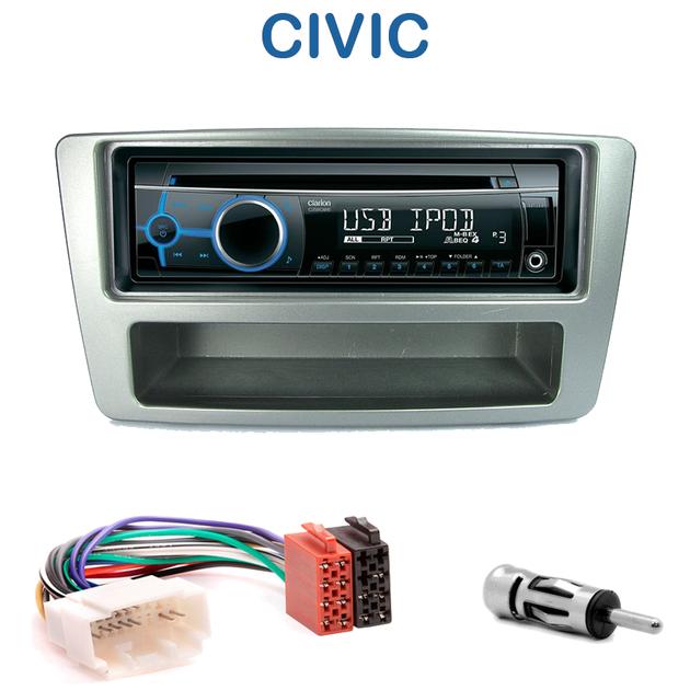 autoradio 1 din honda civic avec cd usb mp3 bluetooth honda autoradios. Black Bedroom Furniture Sets. Home Design Ideas